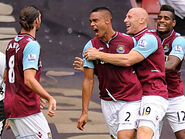 West Ham 3-0 Fulham (Reid goal)