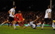Fulham 2-3 Liverpool (Coutinho goal)