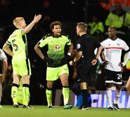 Fulham 5-0 Reading (Williams red)