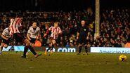 Fulham 1-4 Sunderland (Johnson 3rd goal)