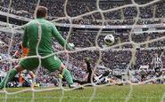 Newcastle 1-0 Fulham (Cissé goal)