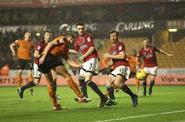 Wolves 4-4 Fulham (Edwards goal)