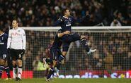 Fulham 0-3 Tottenham (Sandro goal)