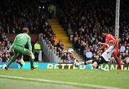 Fulham 1-3 Liverpool (Sturridge 1st goal)