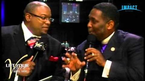 Full Gospel Baptist Church Fellowship Conference Pastor Mark Burns interivewing Bishop McKissick, Jr
