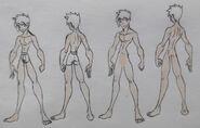 Jake Jackson anatomy (censored)