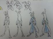 Wonder Alice, Were-Rabbit and Attire