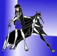 Sandra Darke, the Raven-Haired Alpha