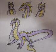 Salia Dragon form