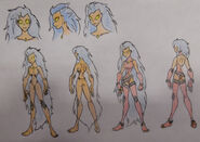 Lynn Ambers (Ember), Elemental anatomy and Avatar Outfit