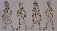 Sofia Brezania, bathing suit and anatomy