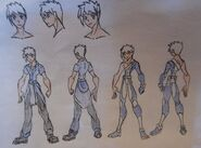 Jake Jackson, casual and Avatar attire