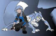 Katlin Snow, the Winter Wolf
