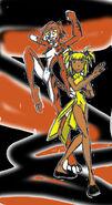 Li Me, the Tigress Drum Queen (repaint)