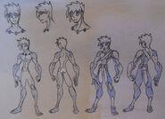 Jake Jackson (Glacier), anatomy and Avatar Attire