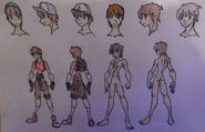 Dipper Pines, casual and anatomy