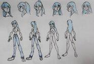 FMH Scales, Liz Azuria, casual and anatomy