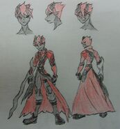 Alucard Shadow Sage half form