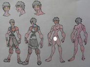 Kichi, Hobgoblin casual and anatomy (censored)