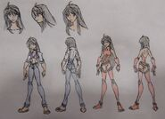 Lynn Ambers, casual and Avatar outfit