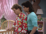 Dave Coulier as Joey Gladstone and John Stamos as Jesse Katsopolis (Jesse Cochran)2 - Full House,S1 - Our Very First Show