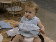 Mary-Kate or Ashley Olsen as Michelle Tanner2 - Full House,S1 - Our Very First Show