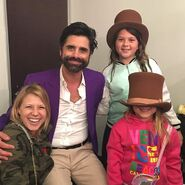 John Stamos, Jodie Sweetin and her daughters