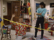 Dave Coulier as Joey Gladstone and John Stamos as Jesse Katsopolis (Jesse Cochran) - Full House,S1 - Our Very First Show