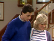 Bob Saget as Danny Tanner and Alice Hirson as Claire Tanner - Full House,S1 - Our Very First Show