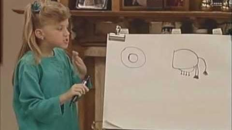 """Full House - Michelle Playing Charades """"big bird!"""" (by request)"""