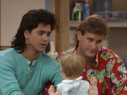 John Stamos, Dave Coulier and Mary-Kate or Ashley Olsen6 - Full House,S1 - Our Very First Show
