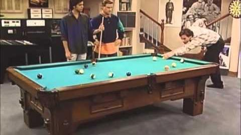 Full House Funny Clip - Danny hustles Jesse at pool