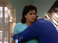John Stamos as Jesse Katsopolis (Jesse Cochran) and Bob Saget as Danny Tanner2 - Full House,S1 - Our Very First Show