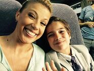 Jodie Sweetin and Elias Harger