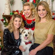 Lori Loughlin, Jodie Sweetin and Candace Cameron Bure
