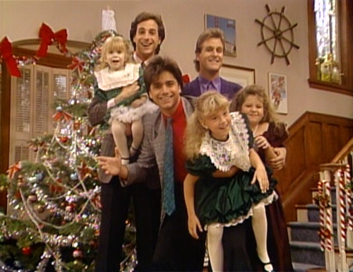 Full House Christmas Episodes.Our Very First Christmas Show Full House Fandom Powered