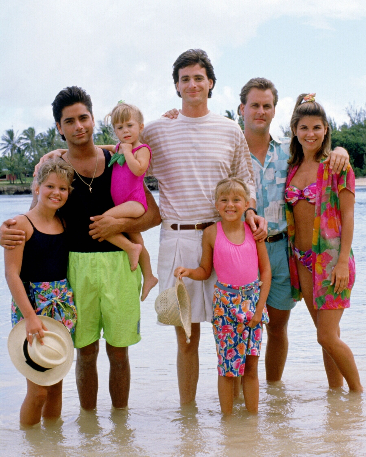 The Tanners Do Hawaiian Style