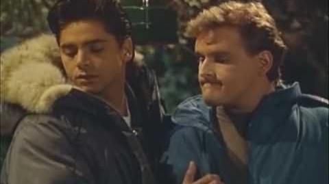 """Full House - Jesse and Joey spot a skunk & """"Happy Trails"""""""