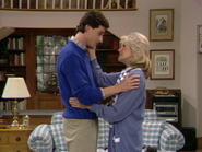 Bob Saget as Danny Tanner and Alice Hirson as Claire Tanner 2- Full House,S1 - Our Very First Show