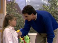 Candace Cameron as D.J. Tanner and Bob Saget as Danny Tanner - Full House,S1 - Our Very First Show