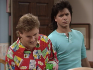 Dave Coulier as Joey Gladstone and John Stamos as Jesse Katsopolis (Jesse Cochran)1 - Full House,S1 - Our Very First Show