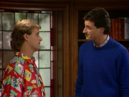 Dave Coulier as Joey Gladstone and Bob Saget as Danny Tanner1 - Full House,S1 - Our Very First Show
