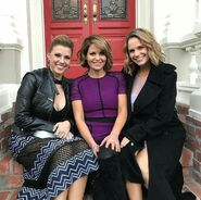 JodieSweetin, Candace Cameron Bure and Andrea Barber