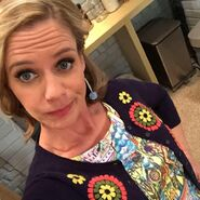 Andrea Barber selfie1
