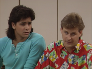 John Stamos as Jesse Katsopolis (Jesse Cochran) and Dave Coulier as Joey Gladstone3 - Full House,S1 - Our Very First Show