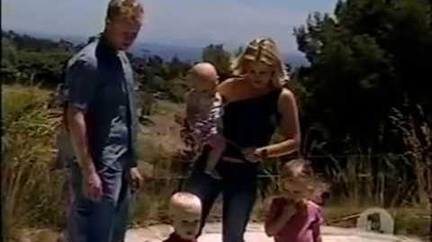 Candace Cameron-Bure 2002 VH1 Interview and Profile with her husband and kids