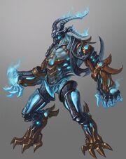 Ice demon by skiorh-d3gucrgroboroytrueform