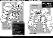 Specs Sheet FMP! Another Behemoth Variant identical to that seen in Anime 4th season.