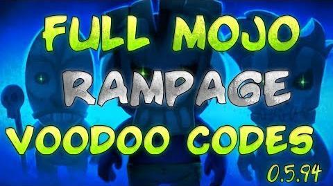 Full Mojo Rampage - Voodoo Codes Guide - Tutorial