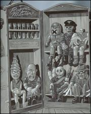 Retro Puppet Master artwork